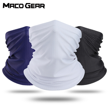 Tube Scarf Summer Cool Breathable Half Face Cover Mask Bandana Neck Gaiter Stretch Hiking Bicycle Bike Cycling Running Men Women