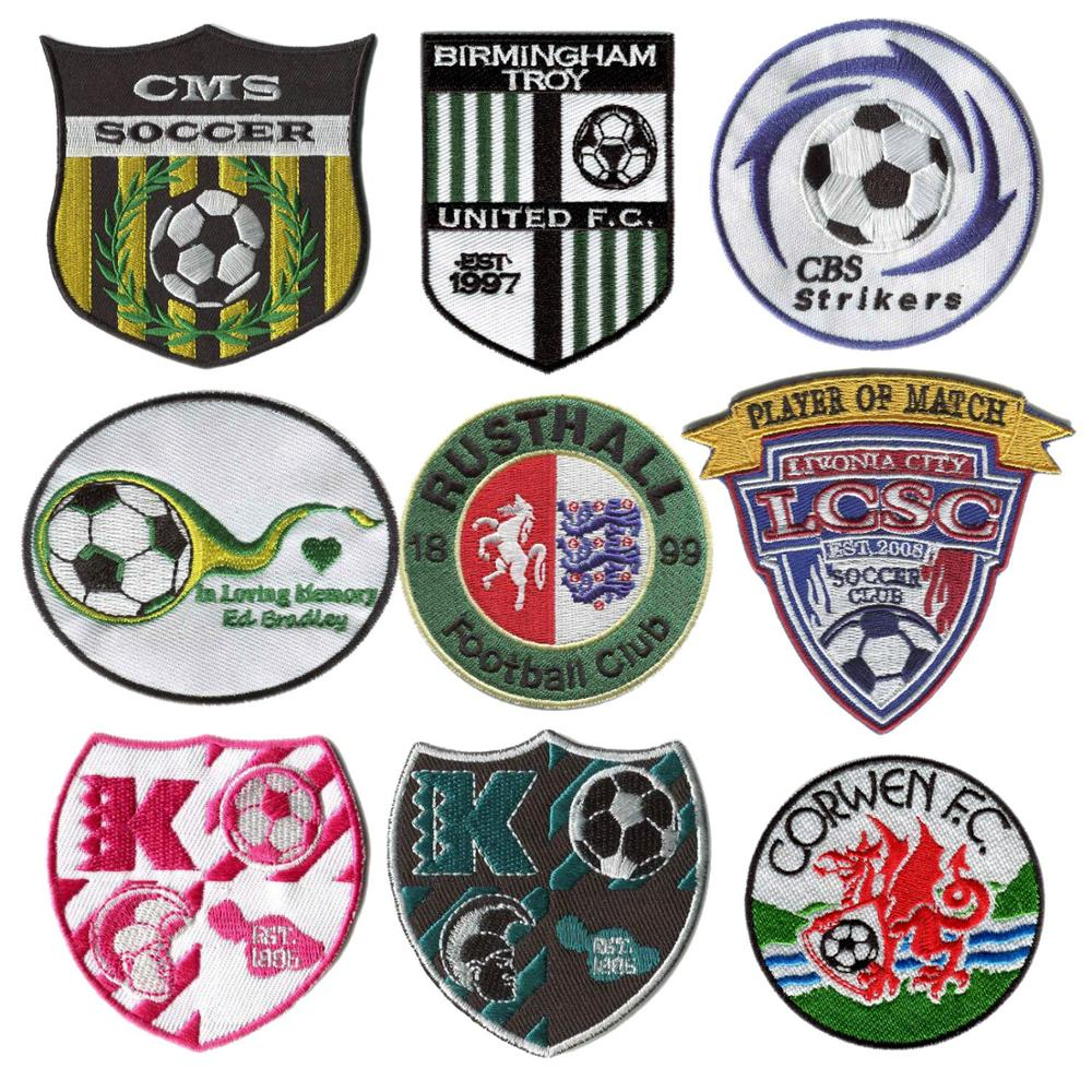 Embroideried Patches Logo Patches Custom College Patches Embroidery Patches For Clothing Self-adhesive Backing