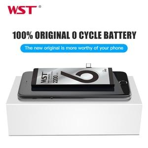 Image 2 - WST オリジナルバッテリー apple の iphone 6S のための高容量 2200 2800mah の交換用電池 iPhone6S 送料無料でツールステッカー