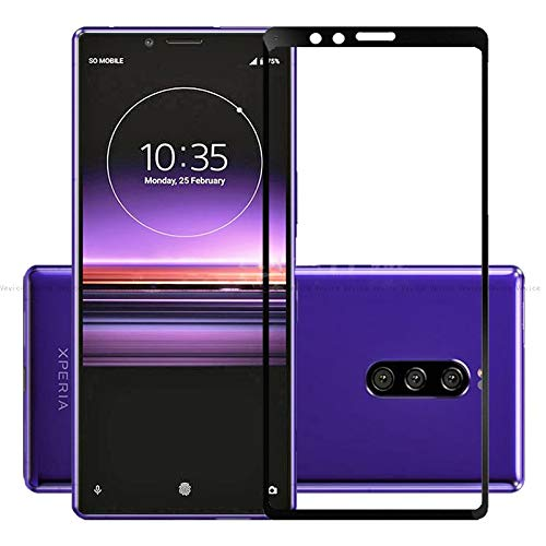 For Sony Xperia <font><b>1</b></font> Xperia1 J8110 J8170 J9110 Tempered Glass Xperia <font><b>1</b></font> <font><b>3D</b></font> 9H Screen Protector Full Cover Glass For Sony Xperia <font><b>1</b></font> image