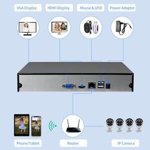 Image 3 - Hiseeu H.265 HEVC 8CH 16CH CCTV NVR per 5MP/4MP/3MP/2MP ONVIF 2.0 IP Della Macchina Fotografica del metallo registratore video di rete P2P per il sistema tvcc