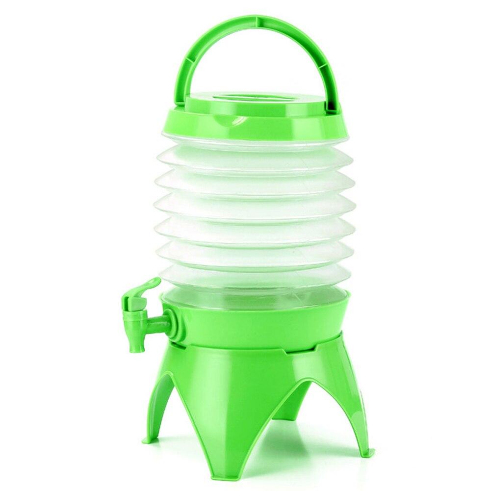 뜨거운 5l 접을 수있는 음료 욕조 디스펜서 물 컨테이너 야외 피크닉 캠핑 수도꼭지 foldable 워터 디스펜서 새로운