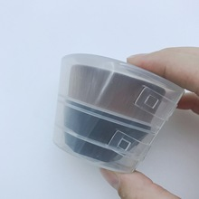 No. 55 Magic Seemless Powder Foundation Brush Transparent Box Plastic Box Makeup