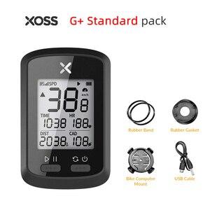 Image 4 - XOSS bisiklet bilgisayar G + artı kablosuz GPS kilometre sayacı su geçirmez yol döngüsü MTB bisiklet Bluetooth ANT + Sprint bisiklet hız göstergesi