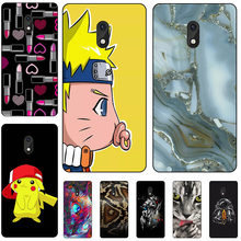 Capa de telefone de silicone macio para tecno itel a16/itel a 16 mais caso de impressão volta capa dos desenhos animados rosa estampado concha fundas para