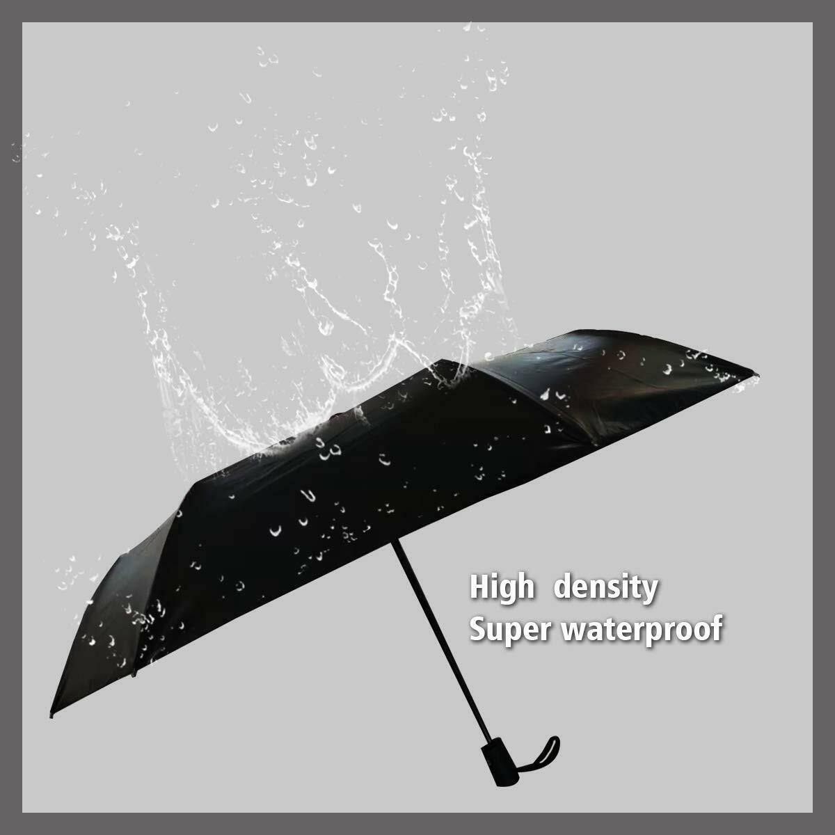 Automatic Umbrella Anti-UV Sun Rain Umbrella Windproof Teflon Folding Compact