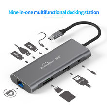 Blueendless Multi USB 3,0 HDMI Adapter zu Splitter 3 Port USB C HUB USB-C Typ C 3,1 für MacBook Pro zubehör USB C HUB