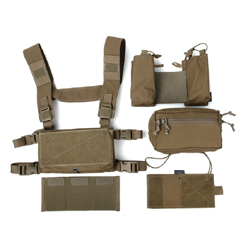 TMC Hunting Tactical Vest Modular Chest Rig Set Cordura 500D Fabric TMC3115-CB