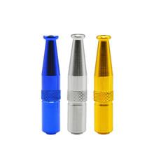 1 sztuk nowość Torpedo Style filtr uchwytu papierosa uchwyt papierosa metalowa rura ustnik filtr akcesoria do palenia tanie tanio