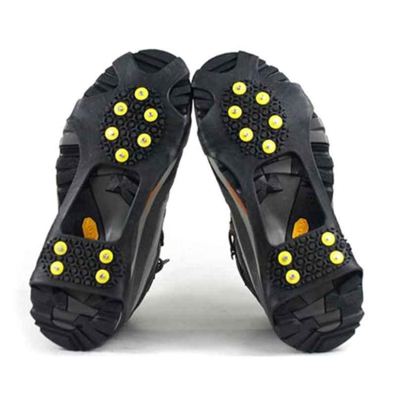 30-35 1 par 10 Dientes Antideslizante Resistente al Hielo Cubierta Antideslizante para Zapatos TPE ABS Aleaci/ón de Zinc Cubierta Antideslizante para Nieve Puntas S MAGT Puntas Antideslizantes SHO