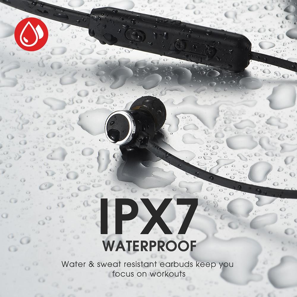 Image 3 - Mpow A7 Wireless Earphone Bluetooth 5.0 Sport Earphones IPX7  Waterproof Hifi Stereo Headphone With Mic For Hornor Huawei  iPhoneBluetooth Earphones