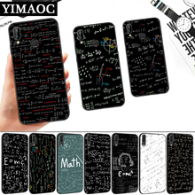 mc2 with E=mc Math Albert Silicone Soft Case for Huawei P8 P9 P10 P20 P30 Lite Pro P Smart Z Plus
