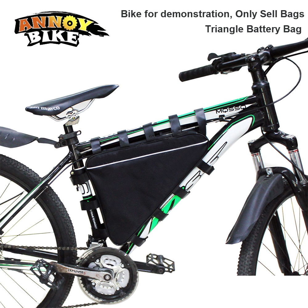 Triangle Bike Bag Front Tube Frame Cycling Bicycle Bags Waterproof MTB Road