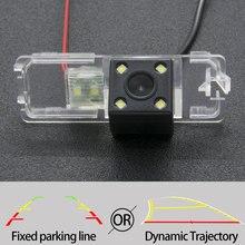 קבוע או דינמי מסלול מבט אחורי מצלמה עבור פולקסווגן פולקסווגן חזק איסוף/Amarok 2010 ~ 2018 רכב הפוך חניה צג