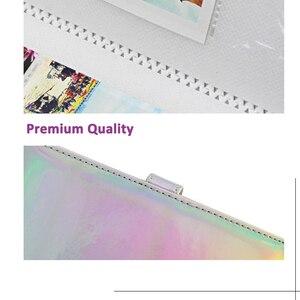 Image 5 - Álbum de fotos de 3 Polegada 96 bolsos, livro de armazenamento para fujifilm instax mini 11 8 9 7s 50 90 mini tamanho de papel do filme
