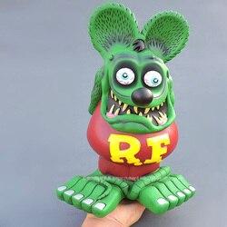 Big RatFink Figure Action Statue 33CM Rat Fink Colllections Model Toys