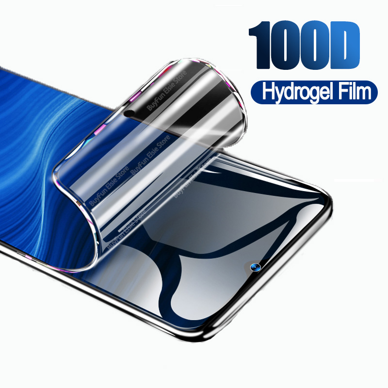 100D Hydrogel Film on for Oppo Realme 5 pro 5s 5i Q Screen Protector For Realme 3 2 X2 Pro X Lite XT PC+PU Soft Protective Film