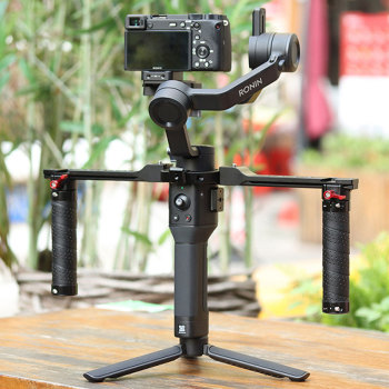 UURig DJI RONIN SC/S Dual Handleld Camera Stabilizer Extend Handle Grip For DJI RONIN SC/S Gimbal Stabilizer Accessories