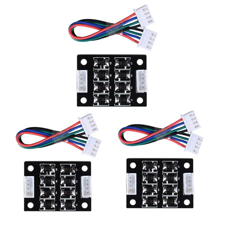 TL Smoother Addon Module For Pattern Elimination Motor Clipping Filter 3D Printer Stepper Motor Drivers (Pack Of 3pcs)