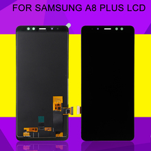 HH 6.0Inch A8 Plus 2018 Lcd Duos Screen For Samsung Galaxy A730 LCD A730F A8 Plus Display Touch Screen Digitizer Assembly full cover tempered glass for samsung galaxy a8 2018 a730 a730f a730f ds duos plus a8 plus screen protective black display case