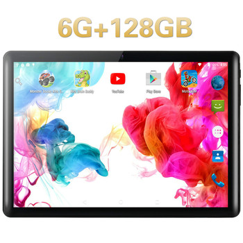 2020 Best-selling 10.1 inch 4G Phone Call Tablet Pc Android 9.0 Ten Core 6G+128GB Google Play  Dual SIM Cards WiFi Tablets