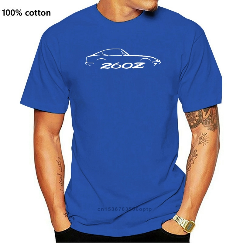 2020 New Fashion Summer Tee Shirt DATSUN 260Z - FAIRLADY Z RETRO INSPIRED CLASSIC CAR T-SHIRT Cotton T-shirt
