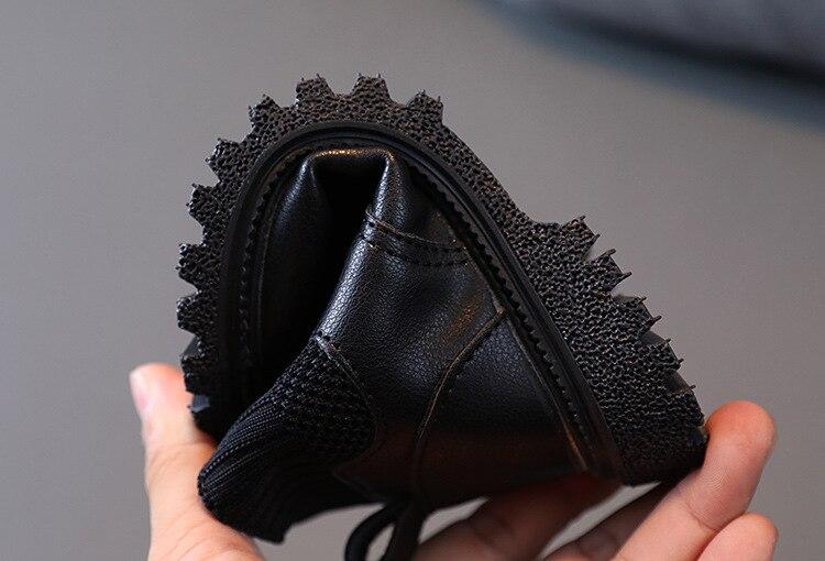 inicialização crianças do bebê engrossar pelúcia martin botas sapatos
