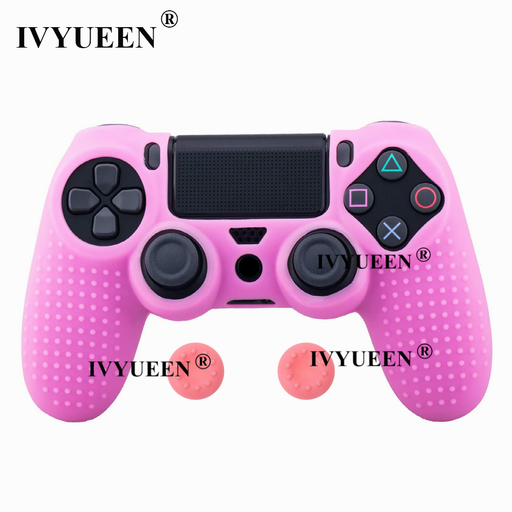 for Sony PlayStation dualshock 4 ps4 pro slim controller silicone case skin 21