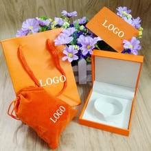 Jewellery Orange Box Set Her