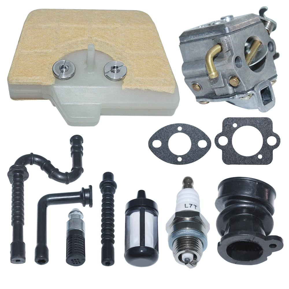 Tools : Carburetor Carb Air Fuel Filter Line Kit For Stihl 034 036 MS340 MS350 MS360 Chainsaw Replace 1125 120 0651 Zama C3A-S31A