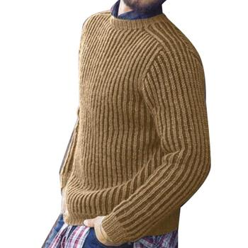 Knitted Cashmere Cotton Pullover Sweater  1
