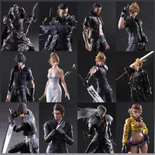 Japan Anime Play Arts Kai Final Fanta Vii 7 Sephiroth Noctis Lucis Caelum PVC Action Figure Collectible Model Toy Art Decoration