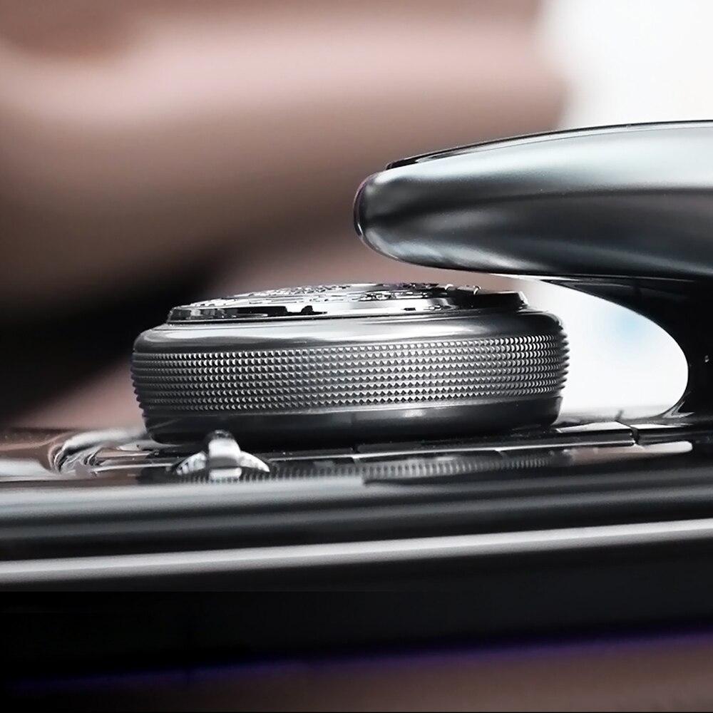 Car Center Console Knob Decor Metal Sticker For Mercedes W212 W205 GLE GLC 260 C200 E300 AMG Apple Tree Car Interior Accessories