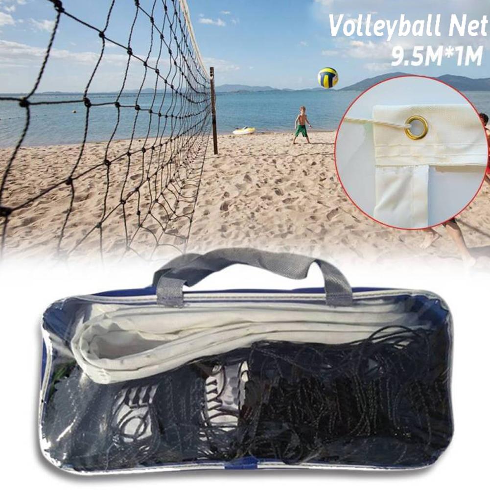 9.5x1m Professional Sport Training Standard Badminton Net Outdoor Tennis Net Mesh Volleyball Net Exercise Drop Shipping