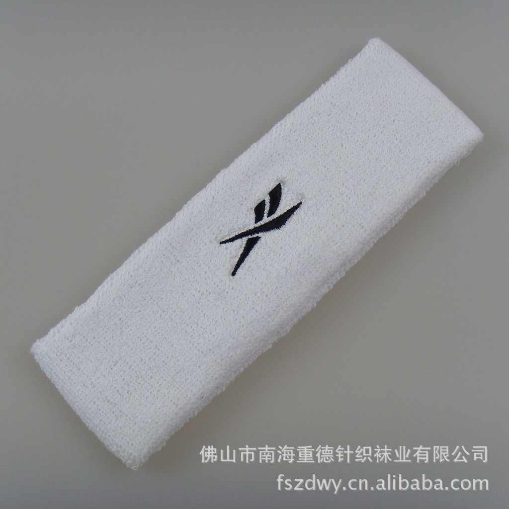 Kafa bandı pamuk ter emici rahat işleme OEM yüksek kaliteli Hairband saç bandı