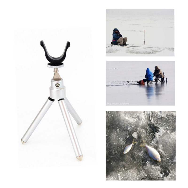 Good Quality Ice Fishing Folding Rod Holder Winter Ice Fishing Rod Supports Stand For Fishing Rods Fishing Tackle New
