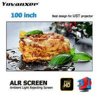 Top class Ambient Light Rejecting ALR Projector Screens 100