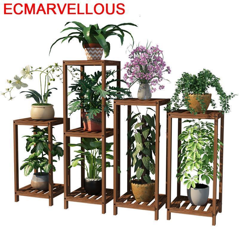 Shelves For Indoor Pot Repisa Para Plantas Terraza Varanda Dekoration Rack Stojak Na Kwiaty Balcony Flower Shelf Plant Stand