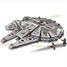 Boy birthday gift toys 1381 pieces of legoinglys Star Wars of the 20th century, 05007, falcon, the spaceship, Christmas(China)