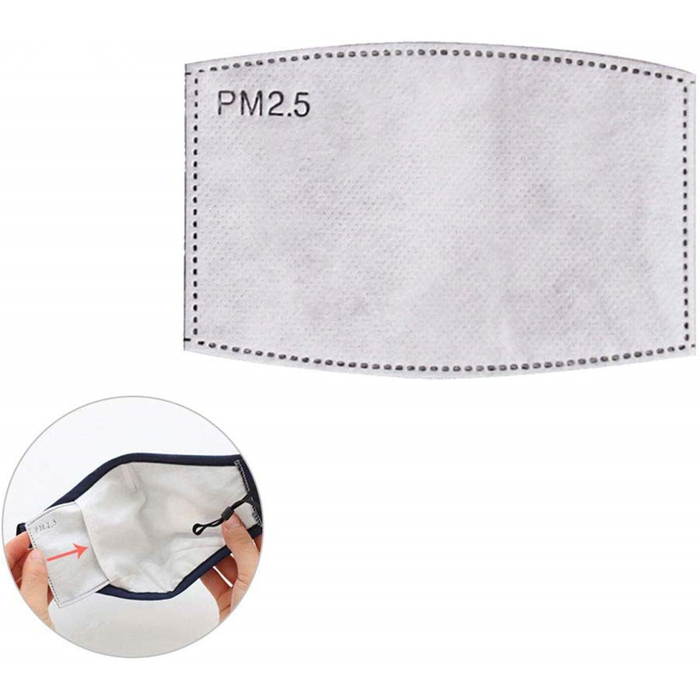 Prevention Supplies 4/10 Anti-fog And Dust-proof Square PM2.5 Mask Filter With Five Layers Of Filtering, Suitable For Adults