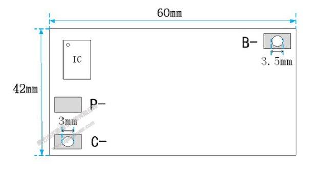 18V 21V 100A 3S/4/5S BMS Ternary Lithium Battery Protection Circuit Board Li-POLYMER Balance Charging Board Module 4