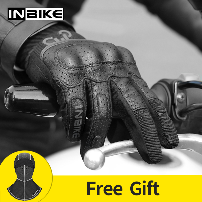 INBIKE Motorcycle Gloves Breathable Motor Protective Gear Touch Screen Outdoor Sports Cycling Racing Gloves Men Motorbike Gloves title=