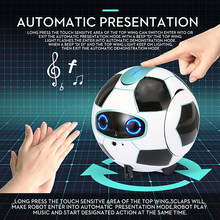 Children Smart Talking Robot Football Newest Smart Phone Gesture Induction Robot Football Electronic Pet Childrenchild Gift