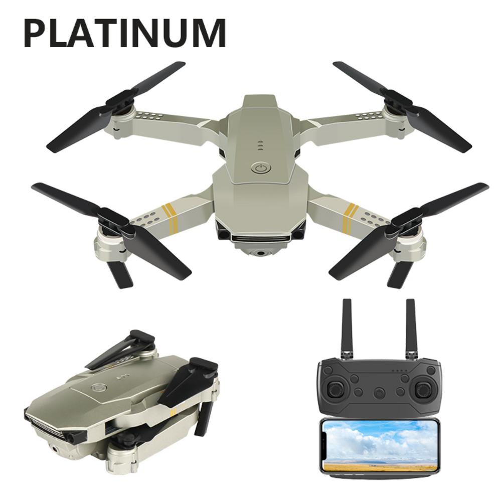 E58 Portable Foldable Drone 720P/1080P/4K HD Wide Angle Aerial Photography Drone Quadrotor RC Drone with Tracking Shooting-0