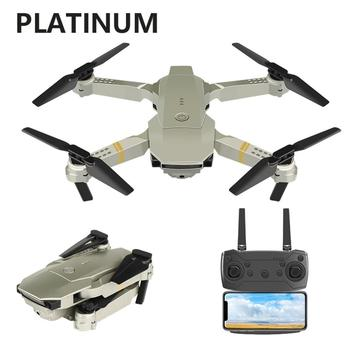 E58 Portable Foldable Drone 720P/1080P/4K HD Wide Angle Aerial Photography Drone Quadrotor RC Drone with Tracking Shooting