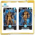 7 zoll Mcfarlane DC Batman: Arkham Knight Deathstroke Modell Spielzeug Action-figuren Spielzeug Für Kinder Geschenk