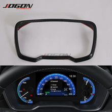 ABS Carbon Fiber Look Dashboard Panel Frame Cover Trim For Toyota Corolla Cross XG10 2020 2021 Car Styling