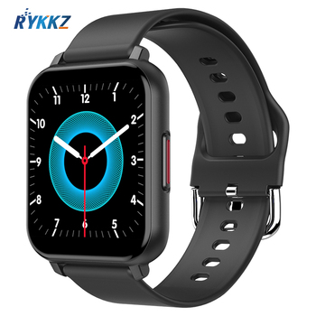 T8 Smart Watch Men Women 1.55 inch Full Touch Heart Rate Fitness Tracker Band Waterproof Smartwatch for Android iOS