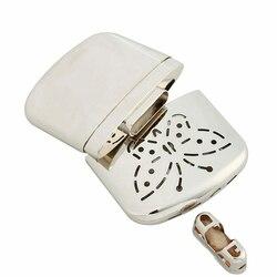 Bolso de aço inoxidável longa-vida ultraleve aquecedor de mão interior ao ar livre pequeno acessível aquecedor atacado