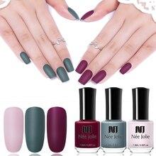 Матовый лак для ногтей NEE JOLIE 65 цветов 8/7. 5/3. 5 мл стойкий лак для ногтей Быстросохнущий лак для ногтей с голографическим эффектом